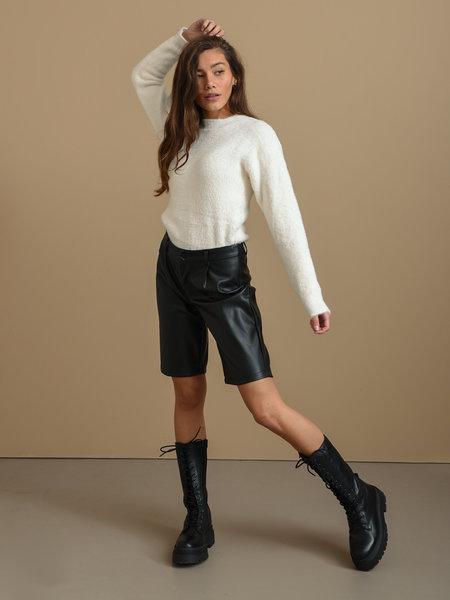 Things I Like Things I Love TILTIL Fluffy Sweater White