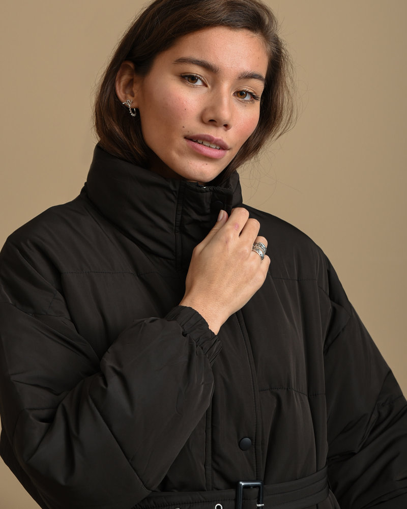 90306b Puffer Jacket Black