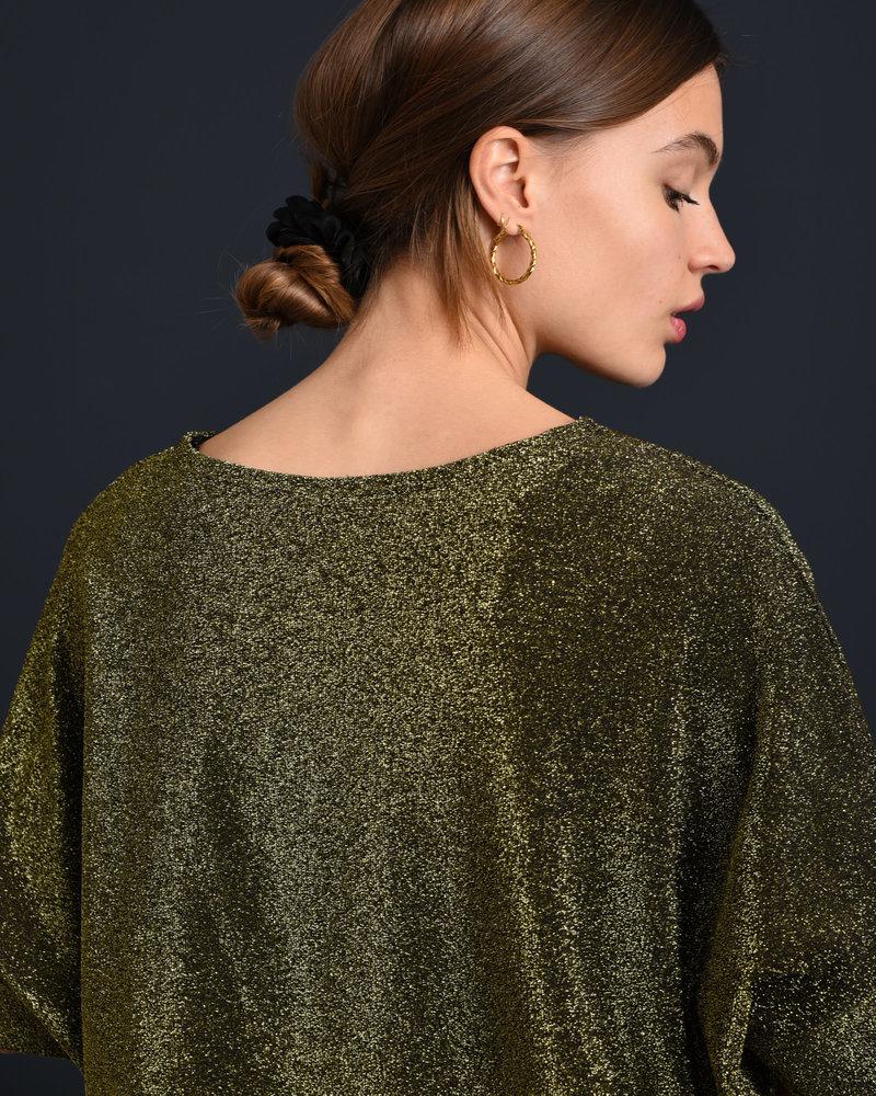 TILTIL Tara Glitter Top Gold
