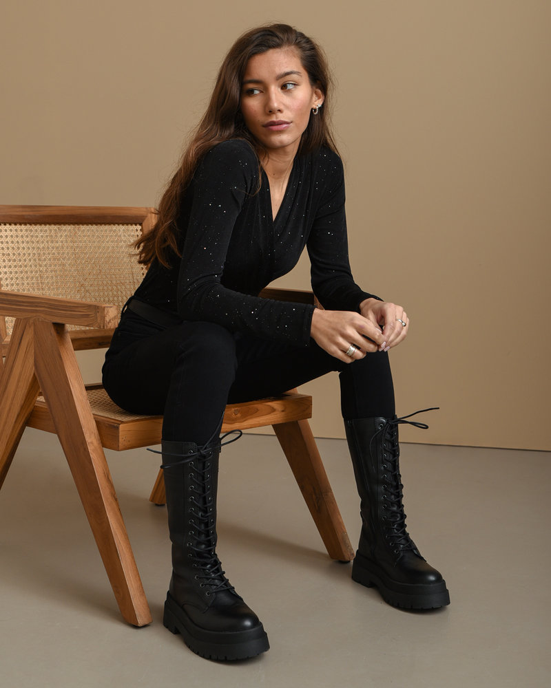 Korio High Lace Boots