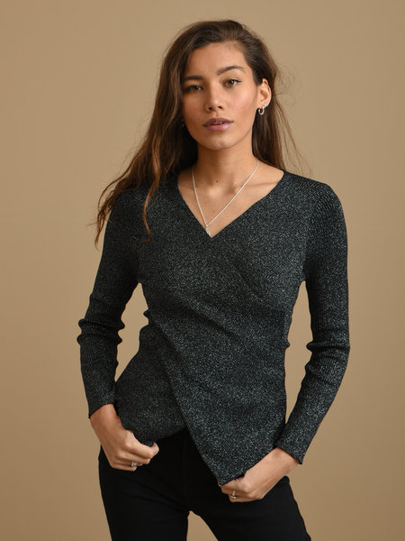 Things I Like Things I Love TILTIL Yara Glitter Knit Black Onesize