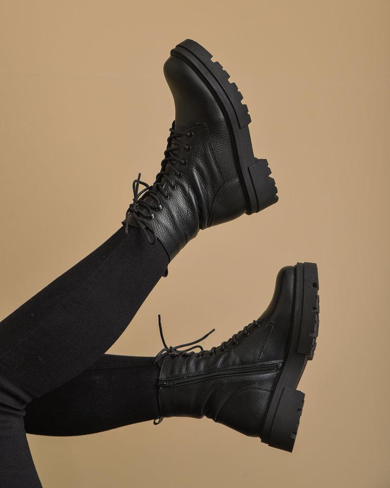Loki Dollaro Black Boots