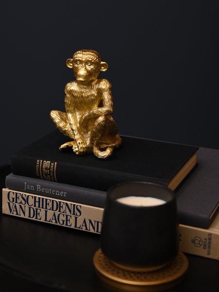 Gold Monkey Ornament