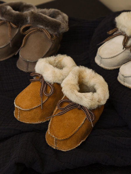 Baby Lammy Boots Warm Brown