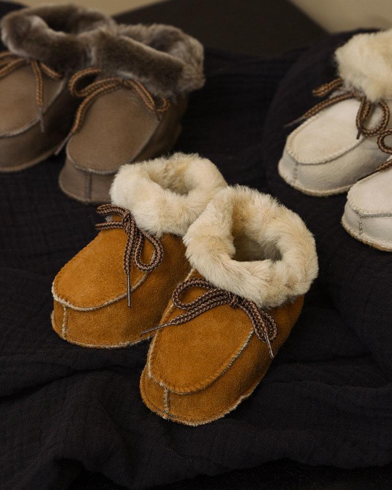 Baby Lammy Boots Warm Brown