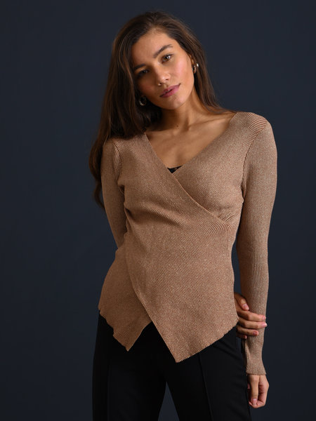 Things I Like Things I Love TILTIL Yara Glitter Knit Gold Onesize