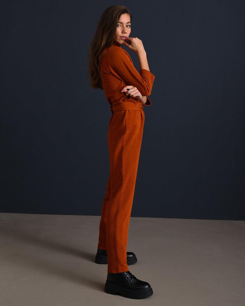 TILTIL Amber Jumpsuit Rust