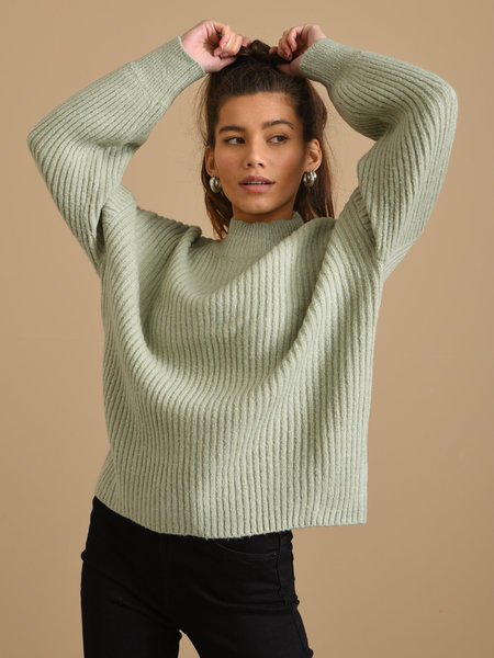 24Colours Knitted Sweater Mint Green