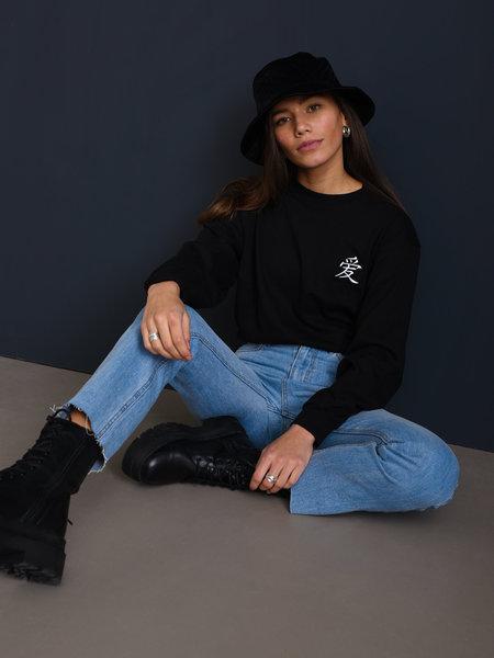 Rut & Circle Ina Straight Jeans Light Blue Denim