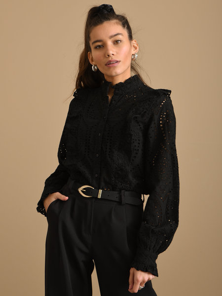 YAS Arianne Shirt Black
