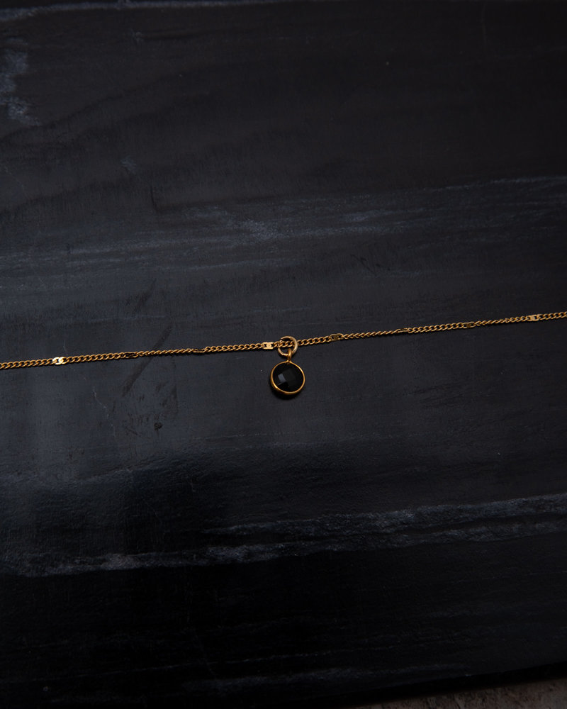 Necklace Dot Black