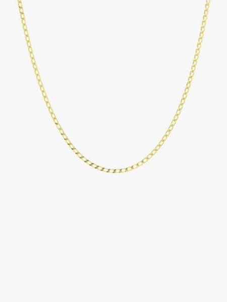 Wild things Medium Oval Gold Necklace