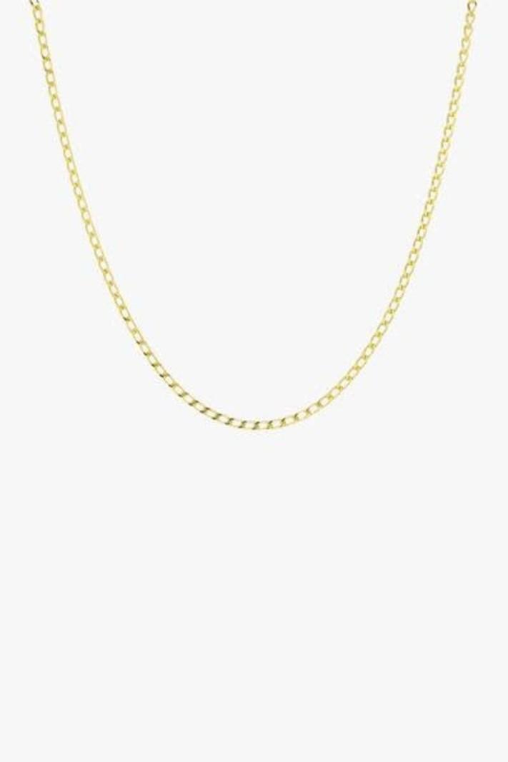 Medium Oval Gold Necklace