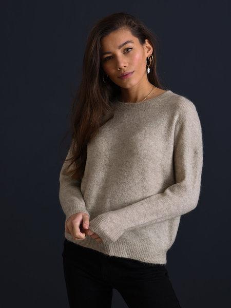 MSCH Femme Mohair O Pullover Oatmeal