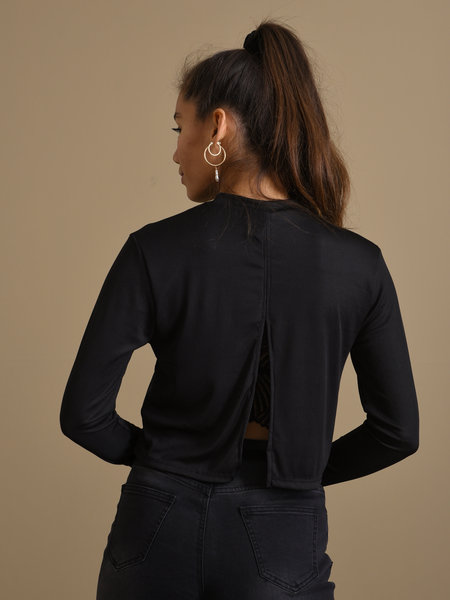 Things I Like Things I Love TILTIL Katie Longsleeve Black