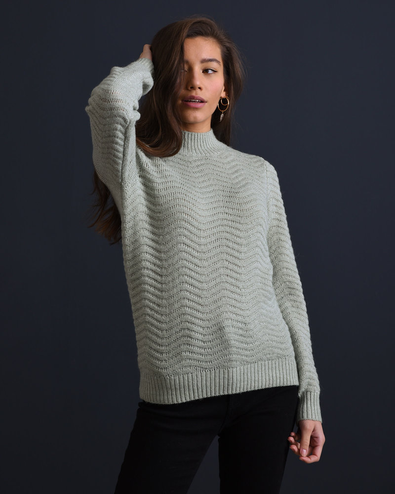 Betricia Knit Pullover Green Lily