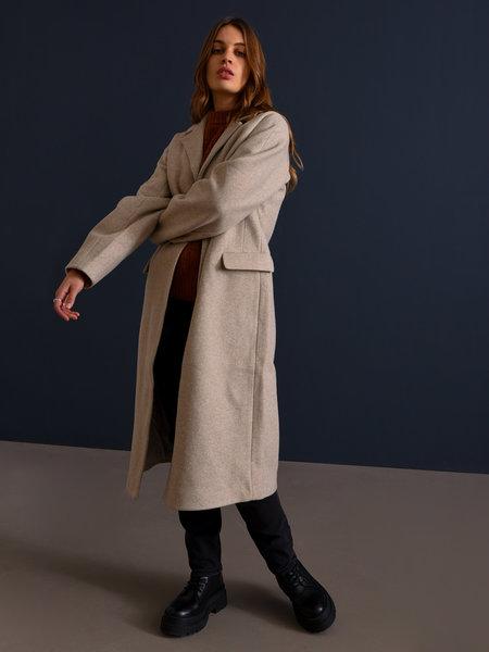 NAKD Shaped Waist Coat Beige/Grey