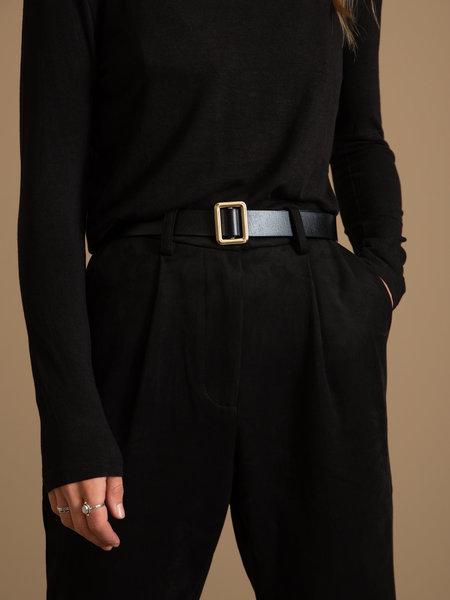 Jason Belt Real Leather Gold