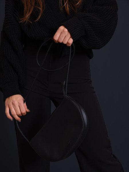 Rilla go rilla Farou Half Moon Bag Black