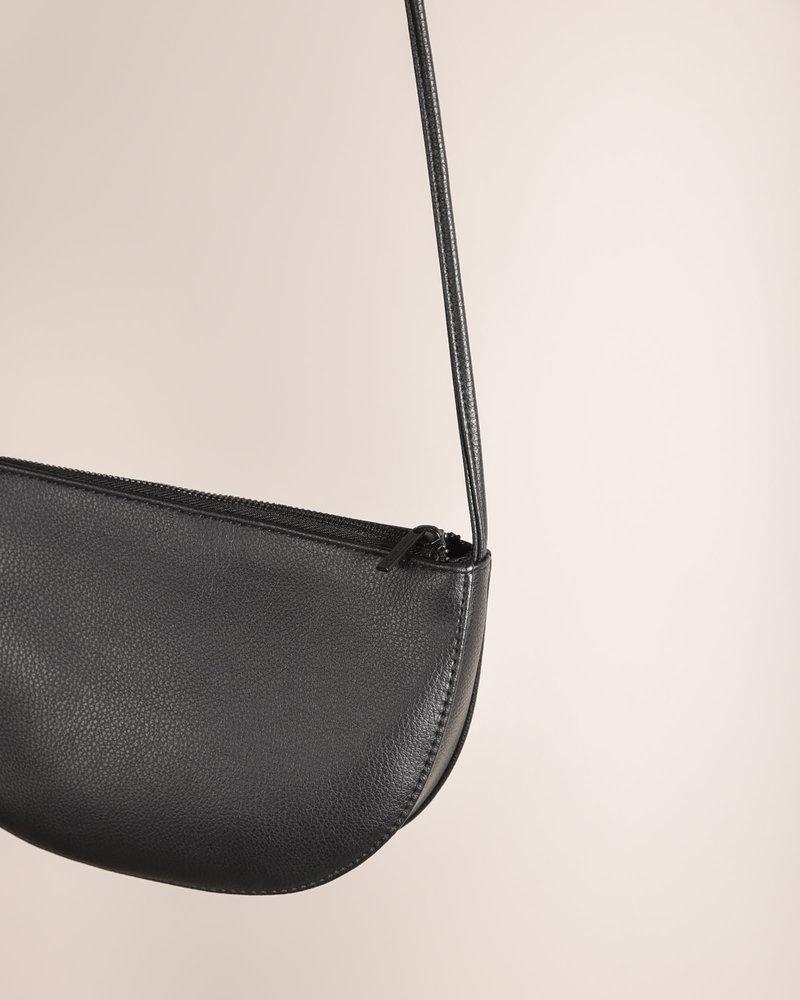 Farou Half Moon Bag Black