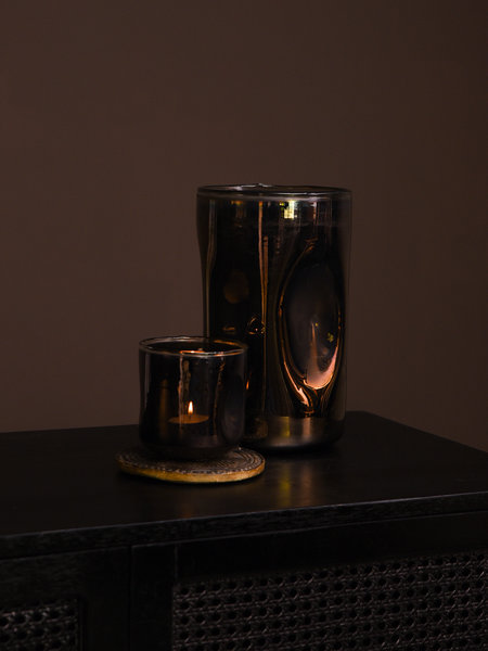 Tealight Shine Brown