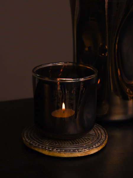Tealight Shine Brown