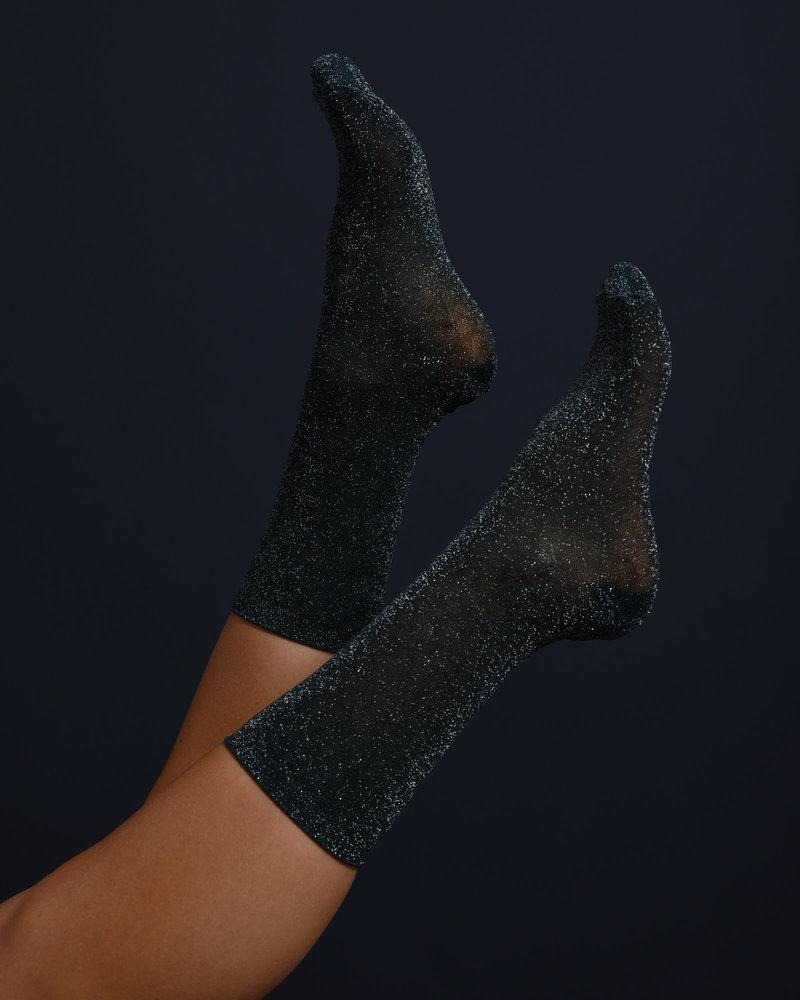 Glitter Socks Green