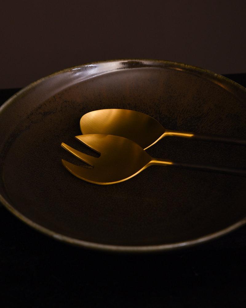 Salad Cutlery Gold