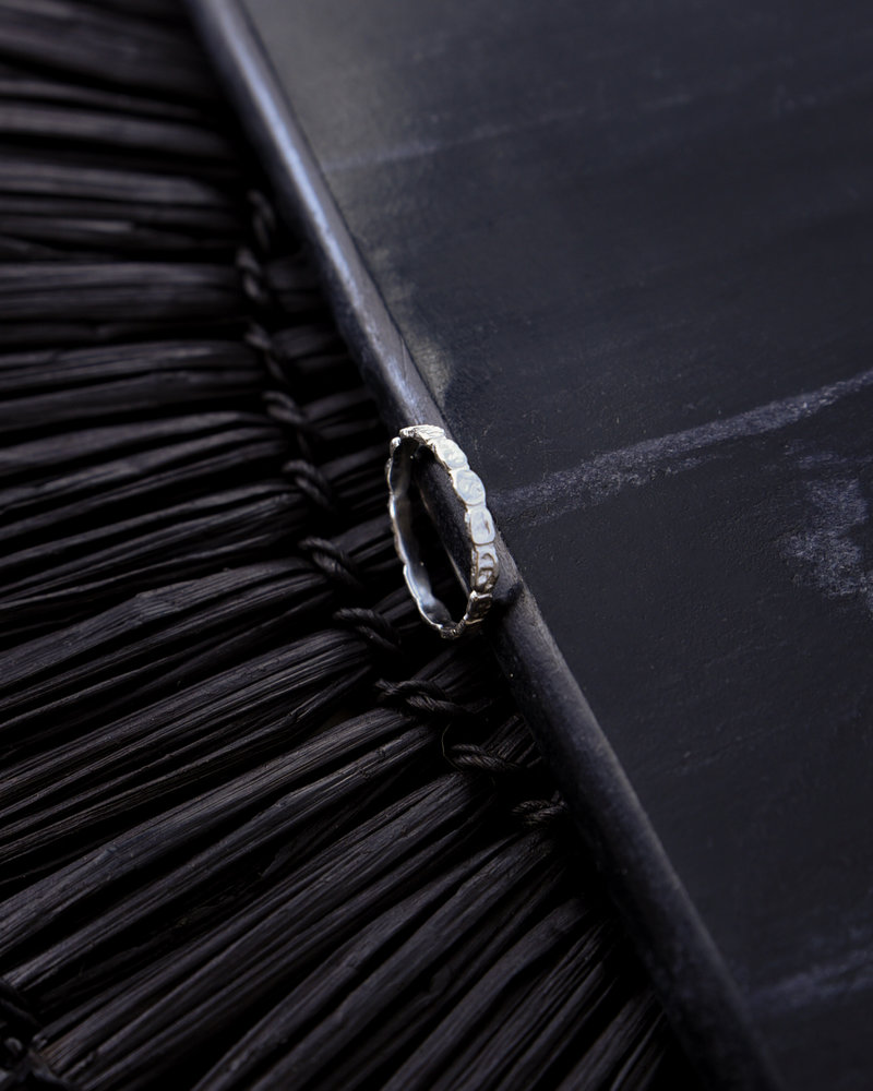 Pebble Ring Silver