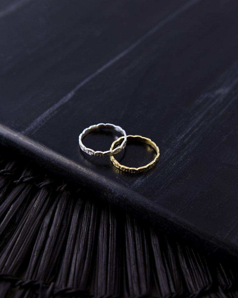 Pebble Ring Gold