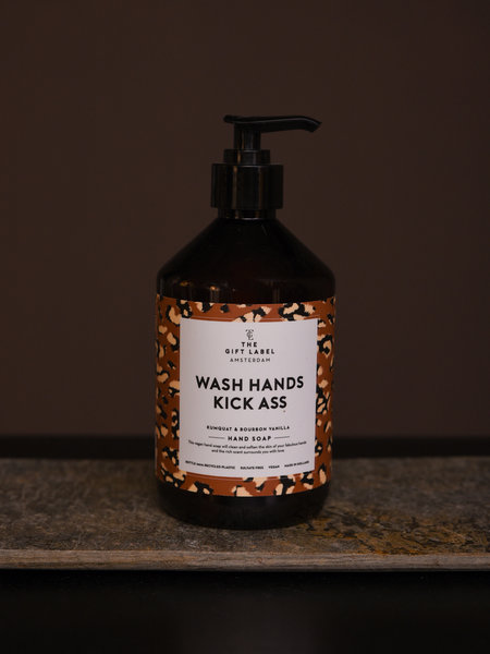 Hand Soap Wash Hands Kick Ass