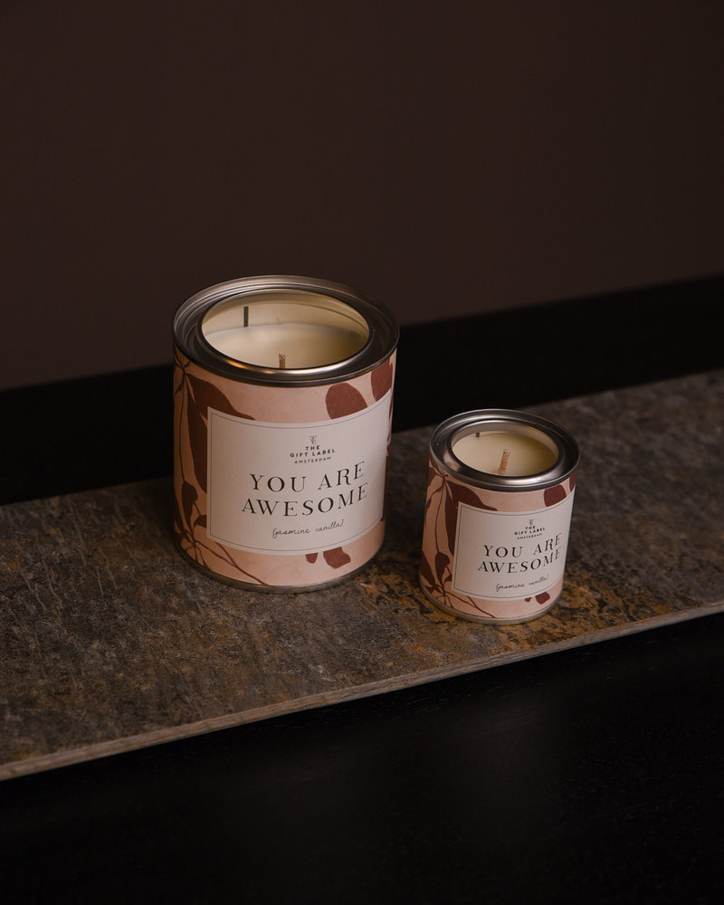 You Are Awesome Candle Jasmin Vanilla