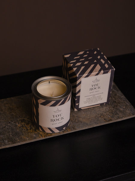 The Giftlabel You Rock Candle Big Fresh Cotton