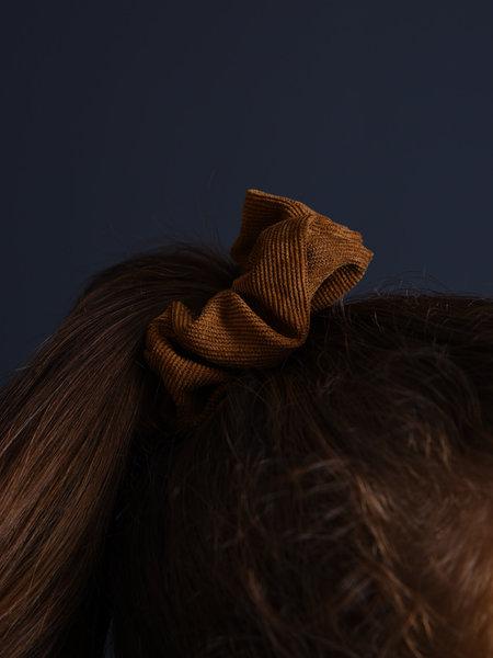 Scrunchie Corduroy Medium Brown