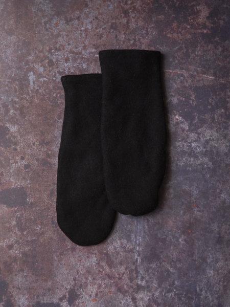 MSCH Wolli Wool Mittens Black