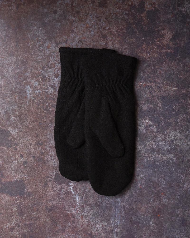 Wolli Wool Mittens Black