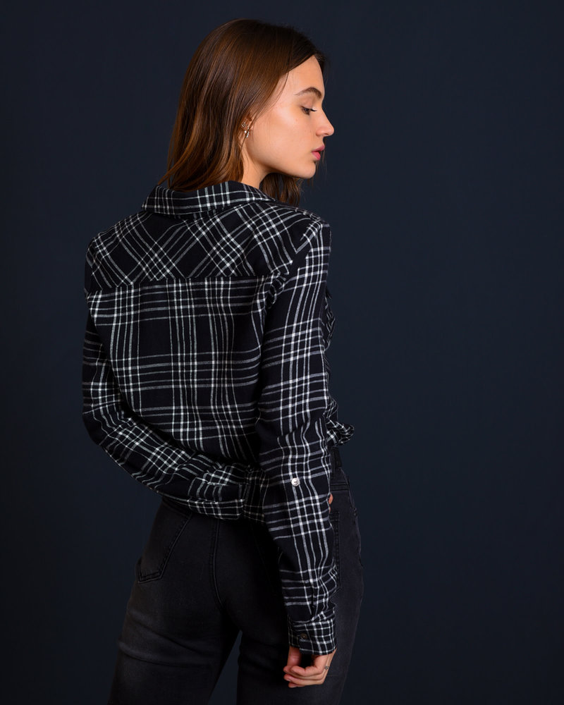 Erik Winter Shirt Black Checked