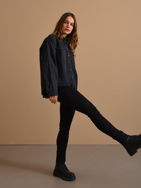 Noisy May Callie Chic HW Jeans Black