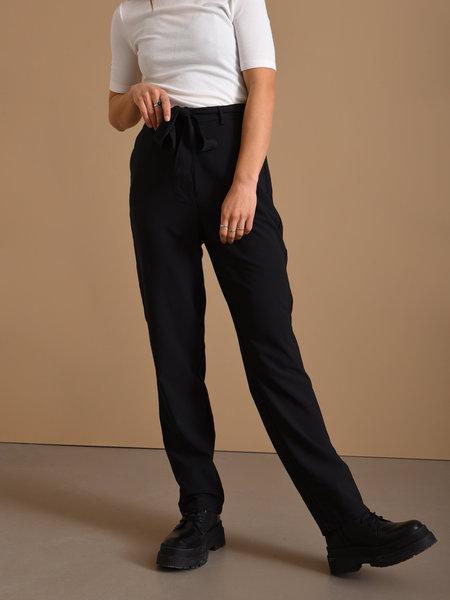 MSCH Delva Lora HW Pants Black
