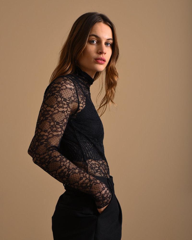Florisa Lace Top Black