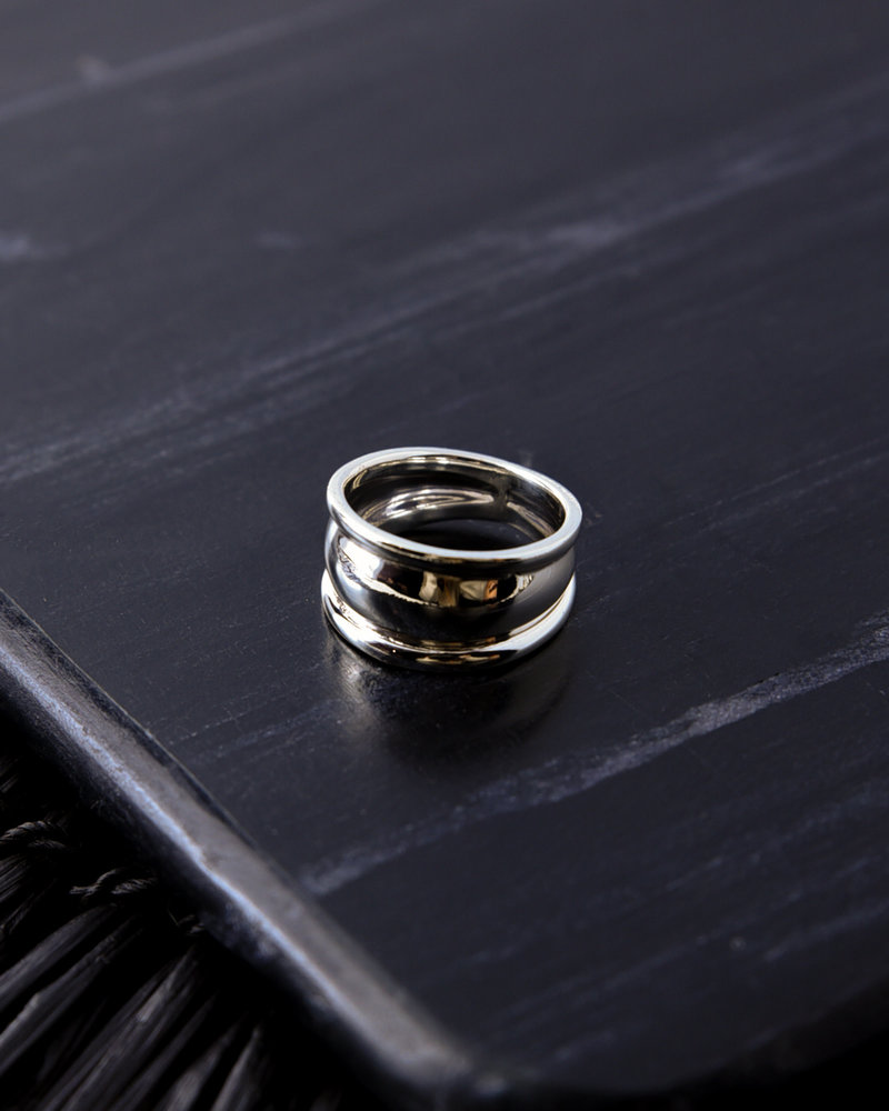 Chunky Silver Ring