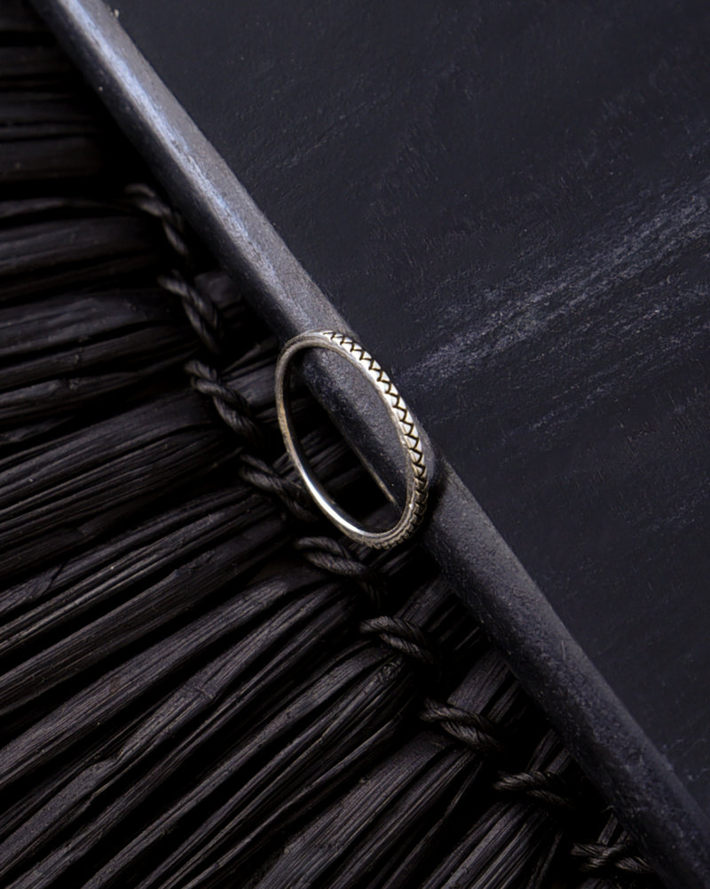 Zigzag Silver Ring