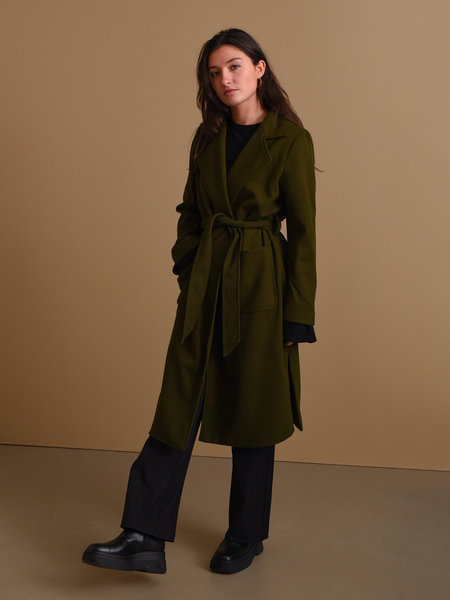 Rut & Circle Tilda Coat Army Green