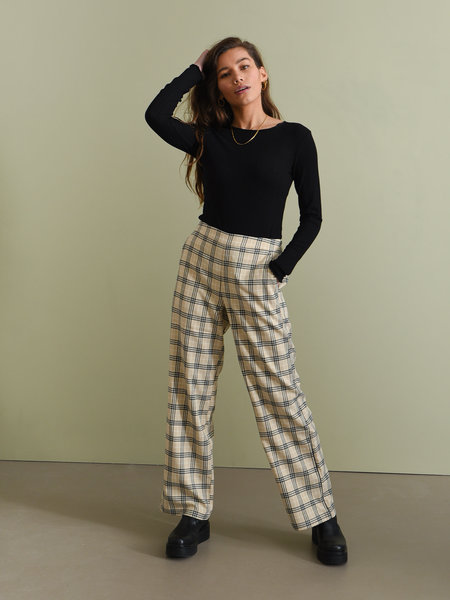 MSCH Cimone Lalou Pants Pepper Check