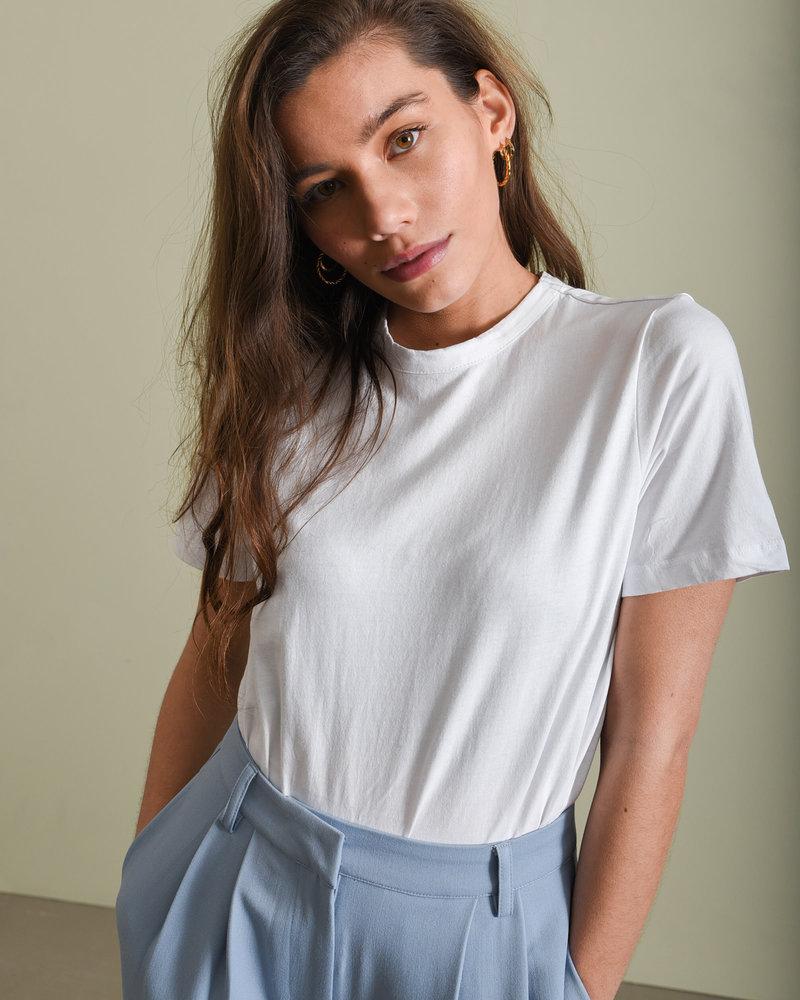 Sarita O-neck Tee Bright White