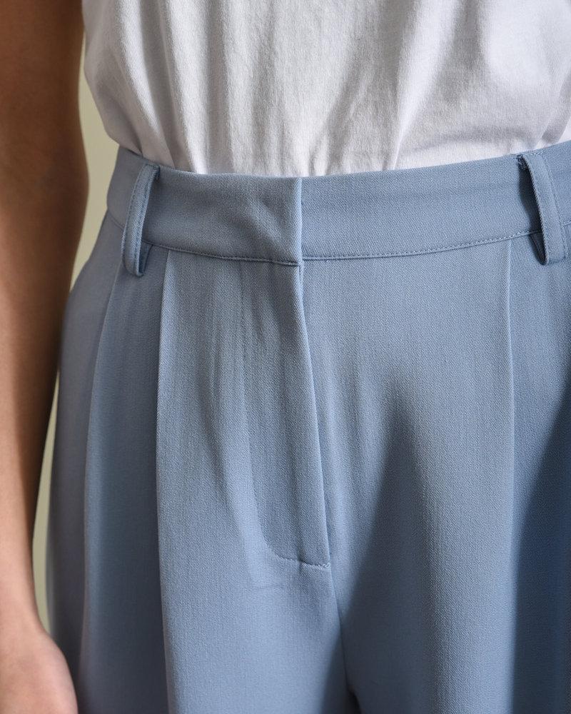 Cornflower Cropped Pant Blue