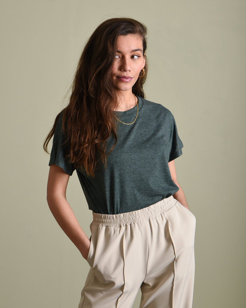 TILTIL Basic Tee Dark Green
