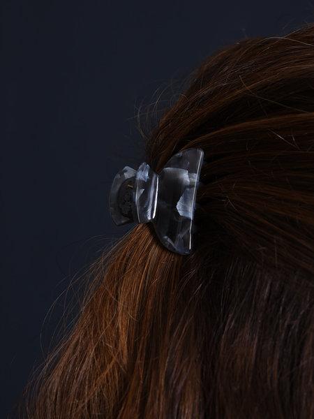 Claw Clip Nacre Black