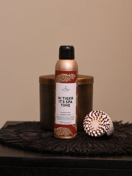 The Giftlabel Body Foam Hi Tiger It's Spa Time