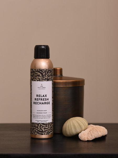 The Giftlabel Body Foam Relax Refresh Recharge